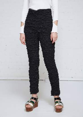 TOGA Archives Shirring Embroidery Pants