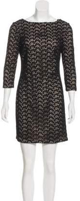 Diane von Furstenberg Sarita Acorn Guipure Lace Dress
