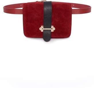 Quiz Red Buckle Belt Bag