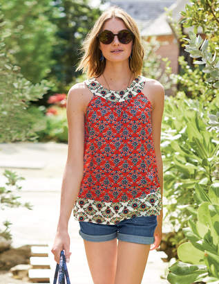Boden Printed Swing Top