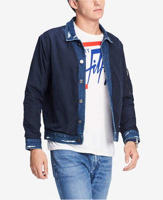 Tommy Hilfiger Men's Lightweight Denim Jacket