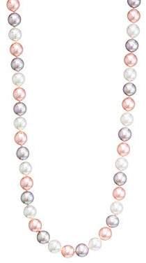 Majorica Women's Tri-Tone Faux Pearl Necklace