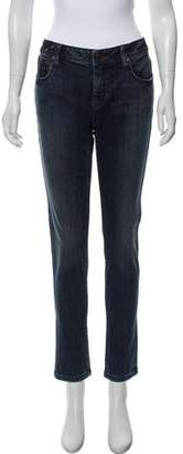 Burberry Mid-Rise Skinny Jeans
