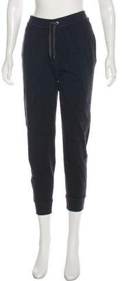 Brunello Cucinelli High-Rise Monili-Trimmed Sweatpants