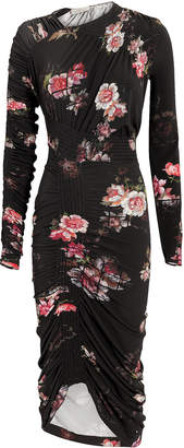 Preen by Thornton Bregazzi Rene Floral Ruched Dress