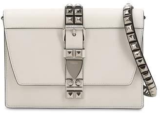 Prada Elektra Studded Leather Shoulder Bag