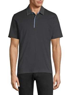 Robert Graham Diego Cotton Polo Shirt