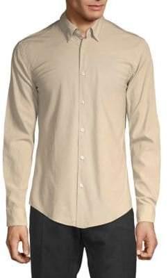 HUGO BOSS Rodney Textured Slim-Fit Shirt