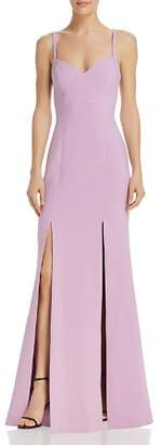 LIKELY Alameda Slit-Front Gown