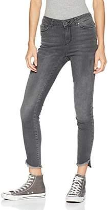 """Vero Moda Women's Seven Mid Rise Uneven Ankle Jean 30"""" Inseam"""
