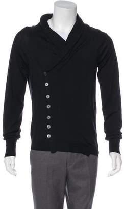 Alexander McQueen Wool & Silk Cardigan