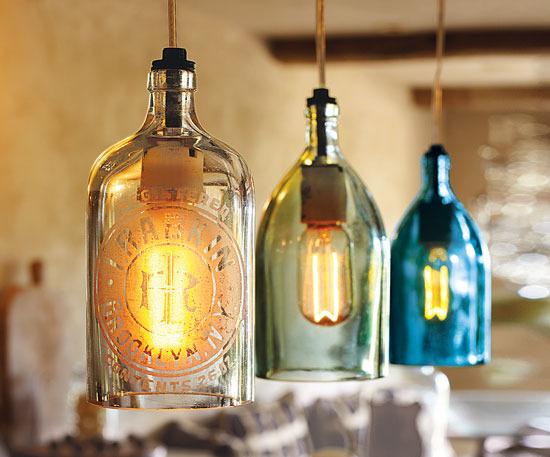 Napa Style Vintage Seltzer Bottle Pendant Lights