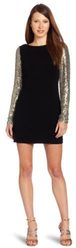 Parker Women's Sequin Sleeve Shift Dress