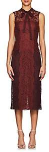 Valentino WOMEN'S FLORAL LACE & TULLE DRESS
