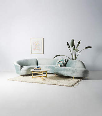 Anthropologie Grace Serpentine Three-Piece Sectional