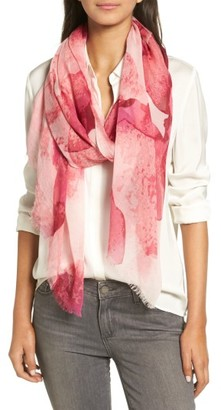 Women's Nordstrom Oblong Scarf $39 thestylecure.com