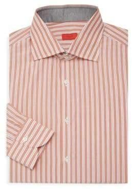 Isaia Pinstriped Dress Shirt