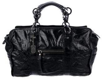 Lanvin Patent Leather Handle Bag