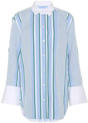 Equipment Striped cotton shirt