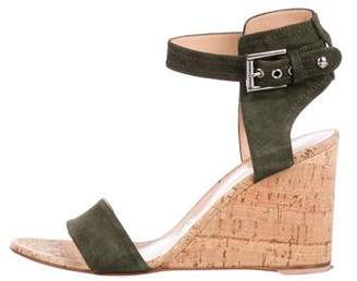 08d23f946 Gianvito Rossi Brown Suede Straps Women s Sandals - ShopStyle
