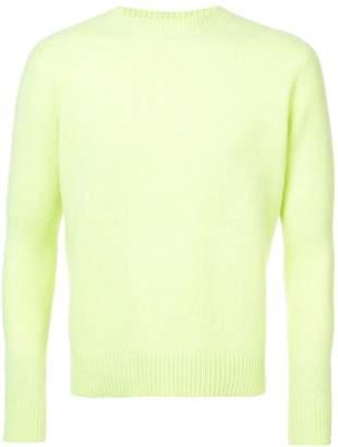 The Elder Statesman simple crew neck sweater