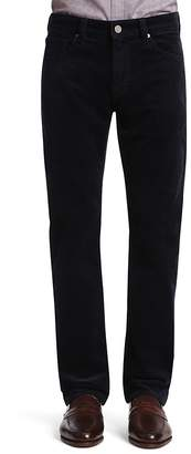 34 Heritage Charisma Comfort-Rise Classic Straight Fit Corduroy Pants in Navy