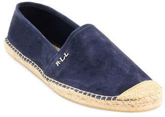 Lauren Ralph Lauren Danita Sheepskin Leather Espadrille Flats $79 thestylecure.com