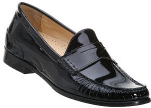 Cole Haan Women's - Air Penny Moc Black Patent Leather