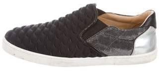 Christian Louboutin Slip-On Low-Top Sneakers
