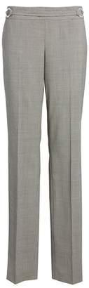 BOSS Tavilla Ring Belt Straight Leg Wool Suit Pants