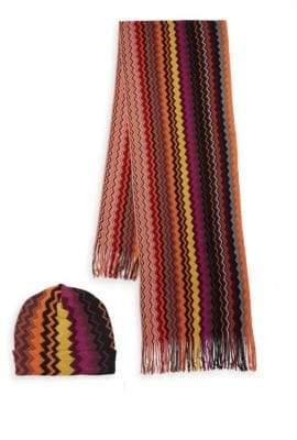 Missoni Two-Piece Hat & Scarf Gift Set