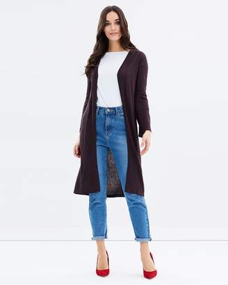 Bamboo Cashmere Wool Long Cardi