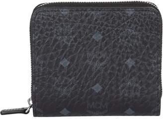 MCM Visetos Mini Two Fold Wallet
