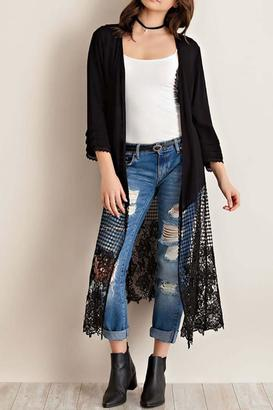Entro Crinkle Open Duster $69 thestylecure.com