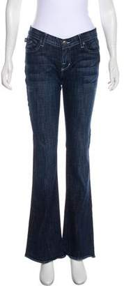 Rock & Republic Mid-Rise Wide-Leg Jeans