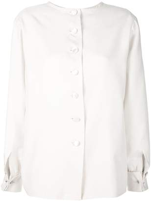 Saint Laurent Pre-Owned buttoned longsleeved blouse