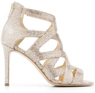 53af86eb75d MICHAEL Michael Kors metallic silver sandals