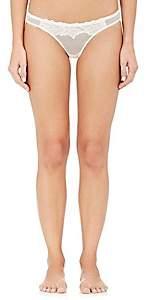 YASMINE ESLAMI Women's Morgane Bikini Briefs - White
