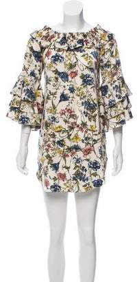 MISA Los Angeles Floral Mini Dress