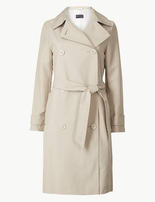 Marks and Spencer PETITE Double Breasted Trench Coat