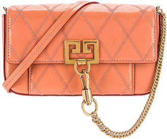 Givenchy Mini Pocket Chain Bag in Pale Coral | FWRD