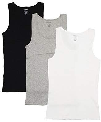 Cherokee 3 Piece Ladies Cotton Tank Underwear