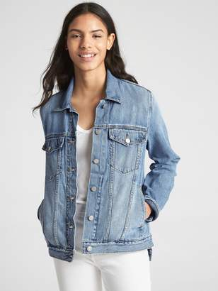 Gap Side-Slit Icon Denim Jacket