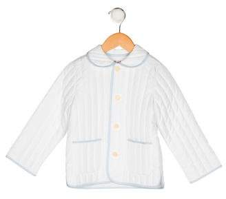 Il Gufo Boys' Collared Quilted Coat