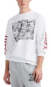 Gallery Department Men's Good Luck Cotton Long-Sleeve T-Shirt - White