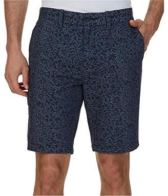 Nautica Men's Cotton Twill Flat Front Slim Fit Chino Short