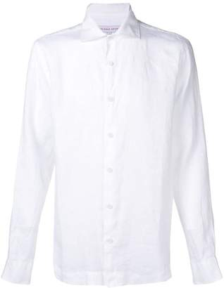 Orlebar Brown slim-fit linen shirt