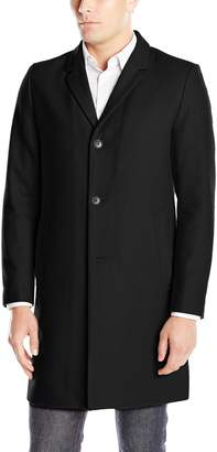 Lucky Brand Men's Abercrombie Wool Single Breasted Top Coat