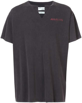 Off-White analog print T-shirt