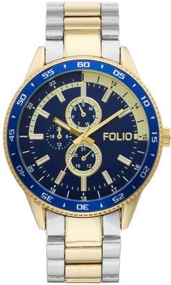 Folio Men's Two Tone Watch